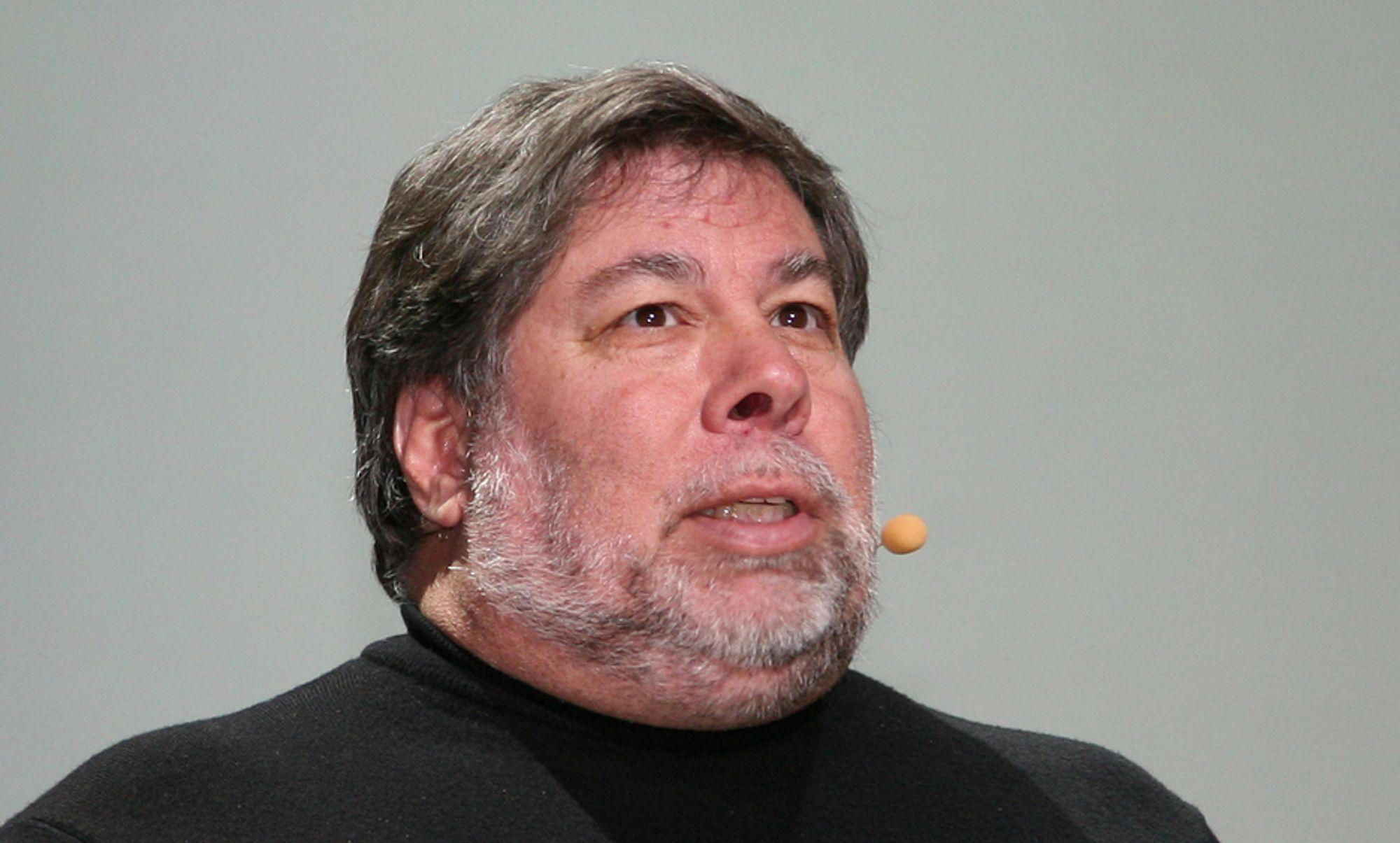 Steve Wozniak, medgründer i Apple, besøker Trondheim fredag 14. mars.