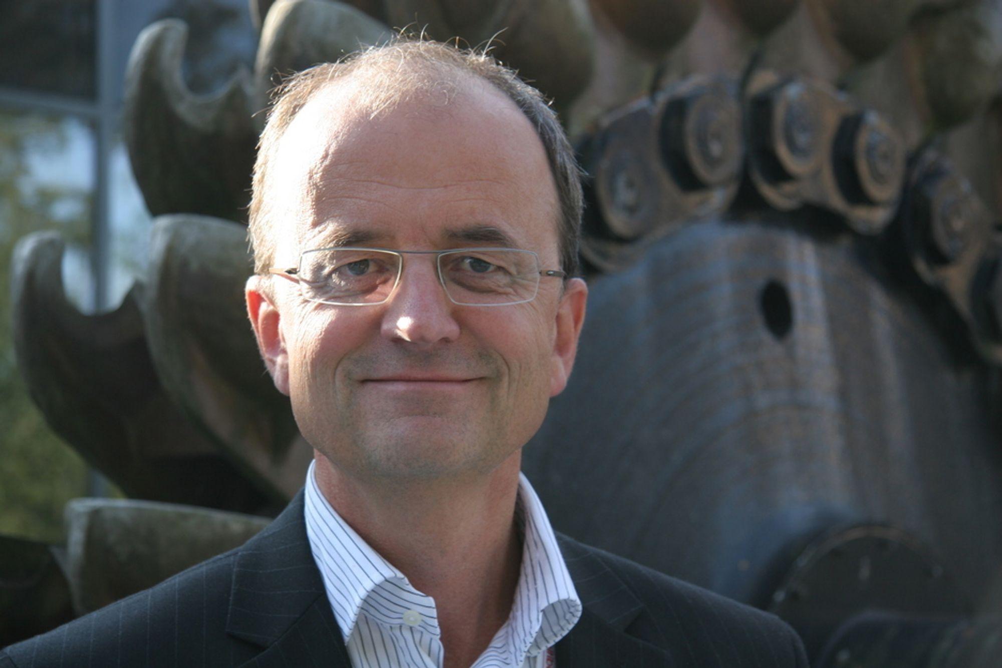 KRITISERER: Lyses Eimund Nygaard mener at Statnett burde vært begeistret for at flere vil bygge kabler.