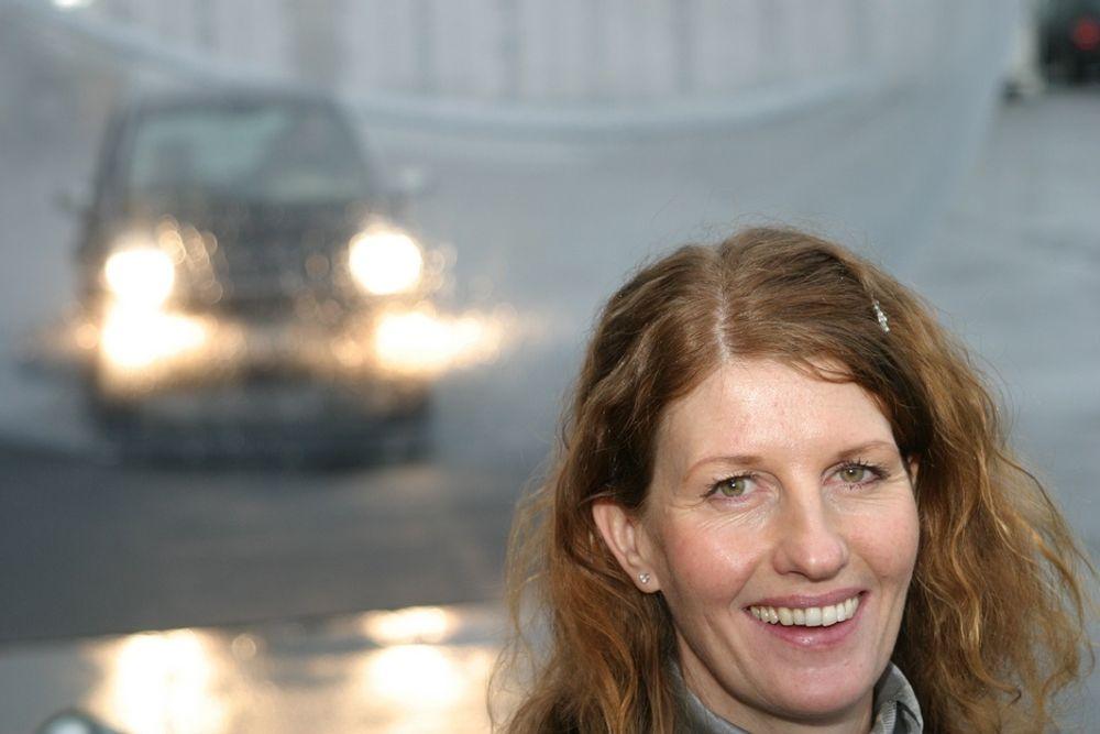 TOR PÅ ELBILEN:Direktør for design og produktplanlegging i Think, Katinka von der Lippe, gleder seg over nye ordre og håper på nye og gamle investorer.