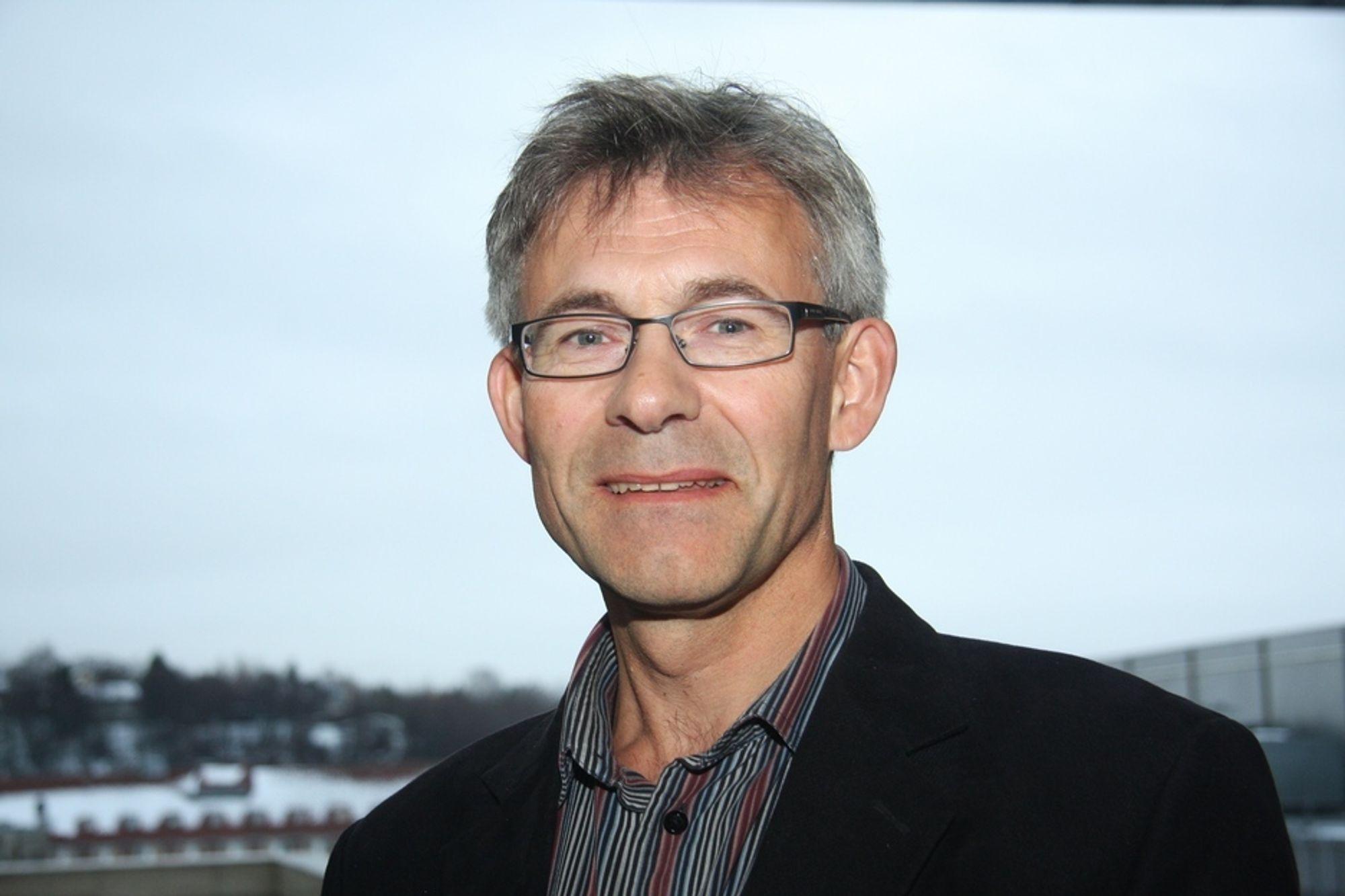 SKEPTIKER:  Energiforbruket er i dag for høyt til at professor Olav Bolland våger å tro på at det skal komme en storstilt utbygging av CO2-anlegg.