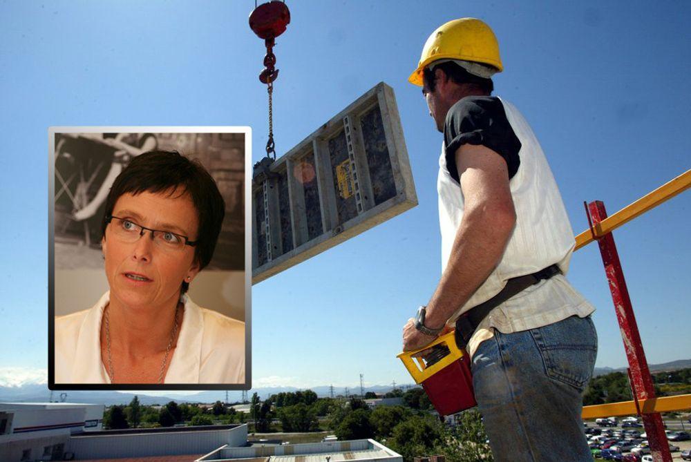 Administrasjonsminister Heidi Grande Røys vil få fart i behandlingstiden for offentlige bygge- og vedlikeholdsprosjekter. Fremover skal kontraktene være ferdigsignerte en måned etter utlysningen.