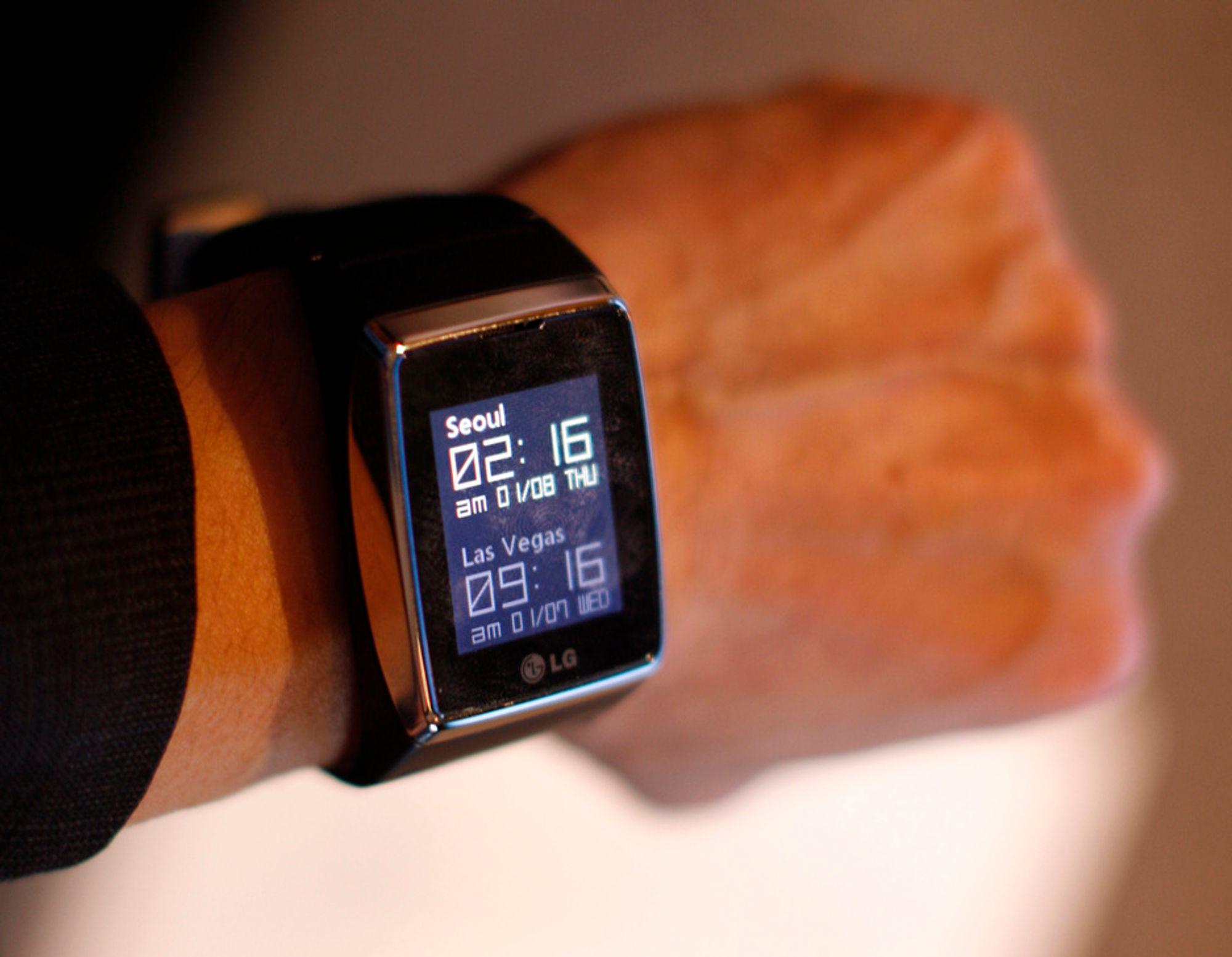 LGs nye klokkemobil lar deg snakke til håndleddet når du vil ringe til noen.