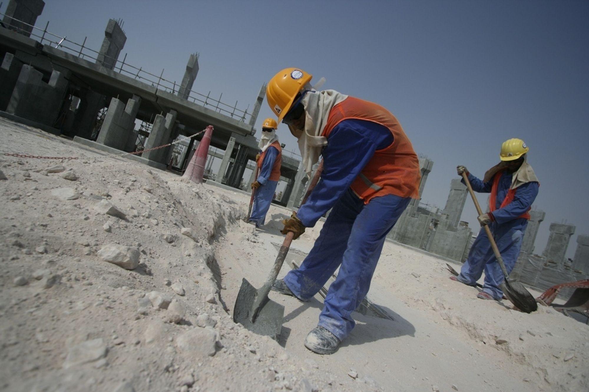 Her i Qatalum bygger Hydro sitt nye aluminiumsverk. Nå kommer det også et forskningssenter.