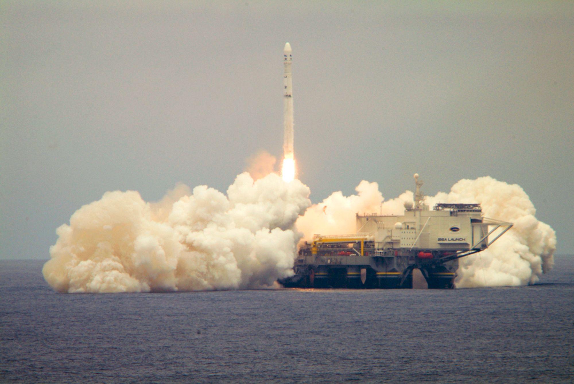 Sea Launch er i pengetrøbbel og har bedt om kreditorbeskyttelse, melder Aker.