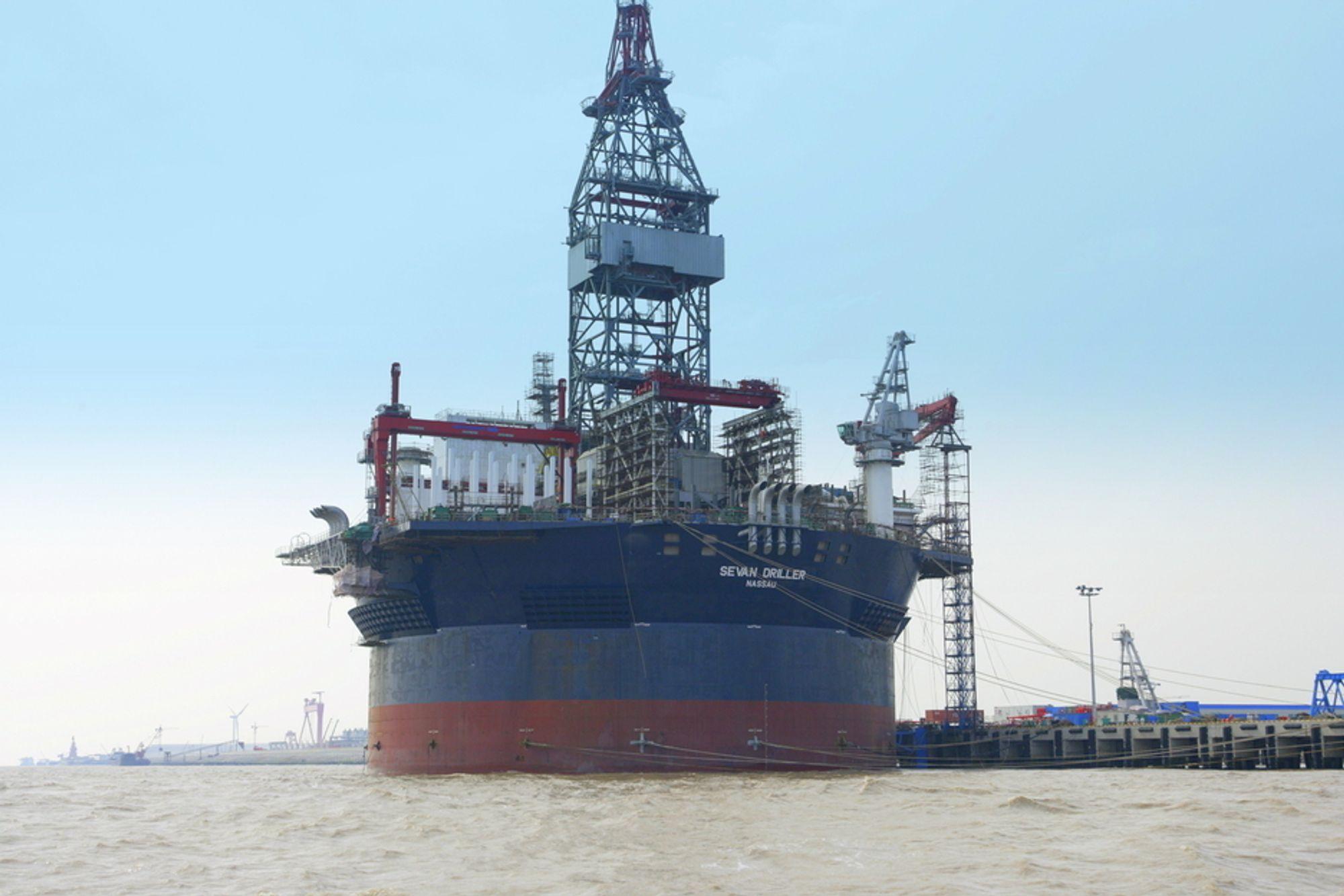 GODKJENT: Sevan driller er godkjent av Petrobras og kan starte å bore brønner for Petrobras.