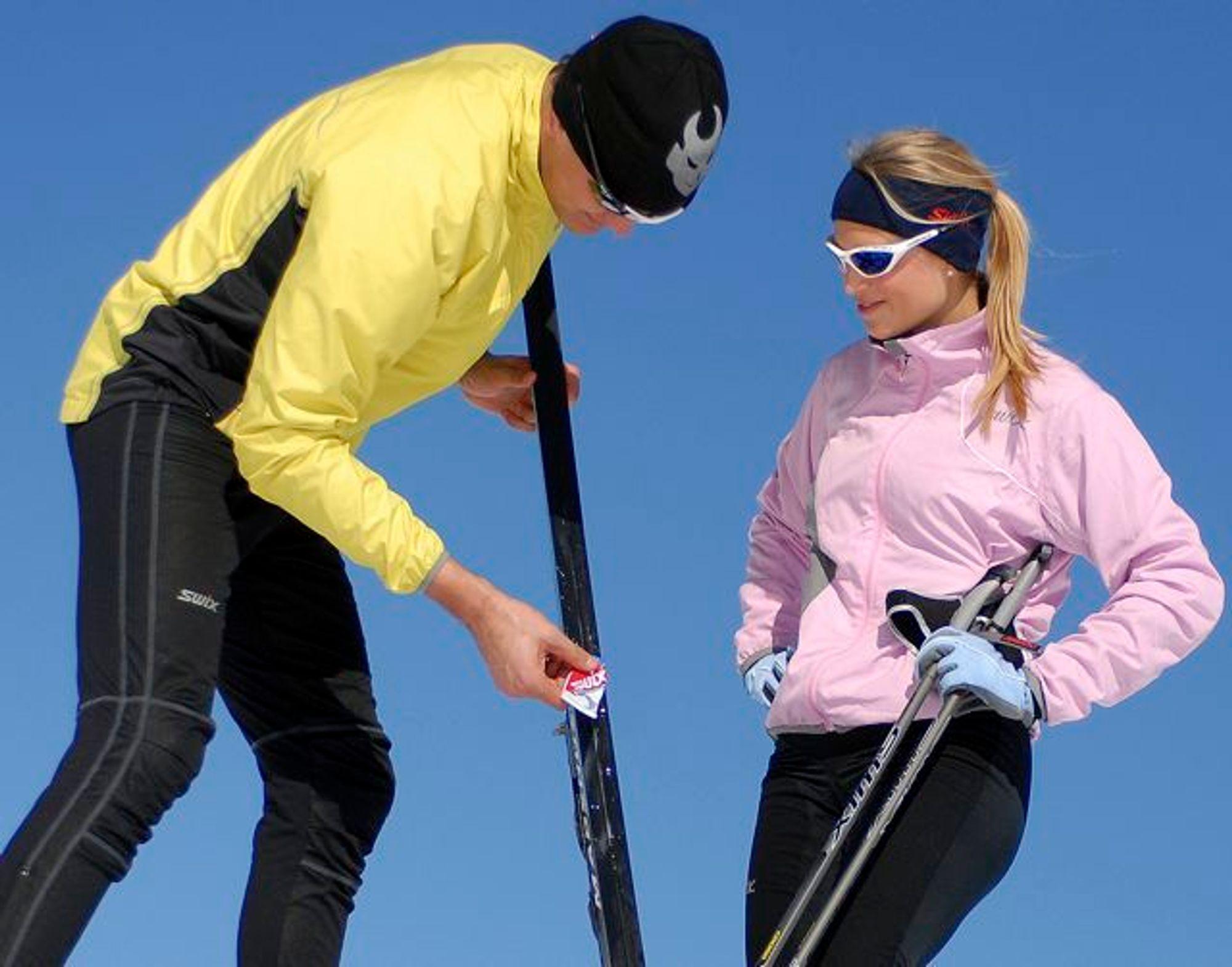 Hvordan smøre ski?