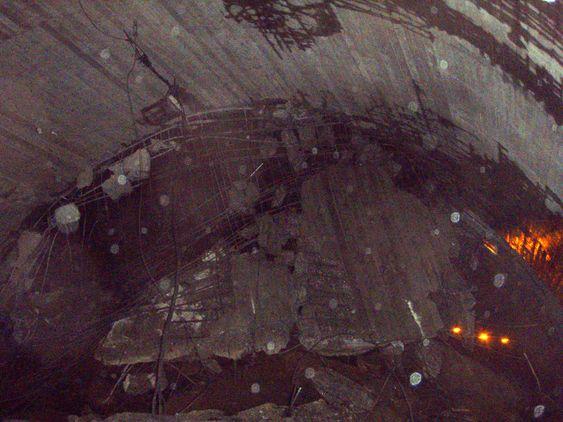Austmannalitunnelen, E134 Haukelifjell, ras 20.11.09