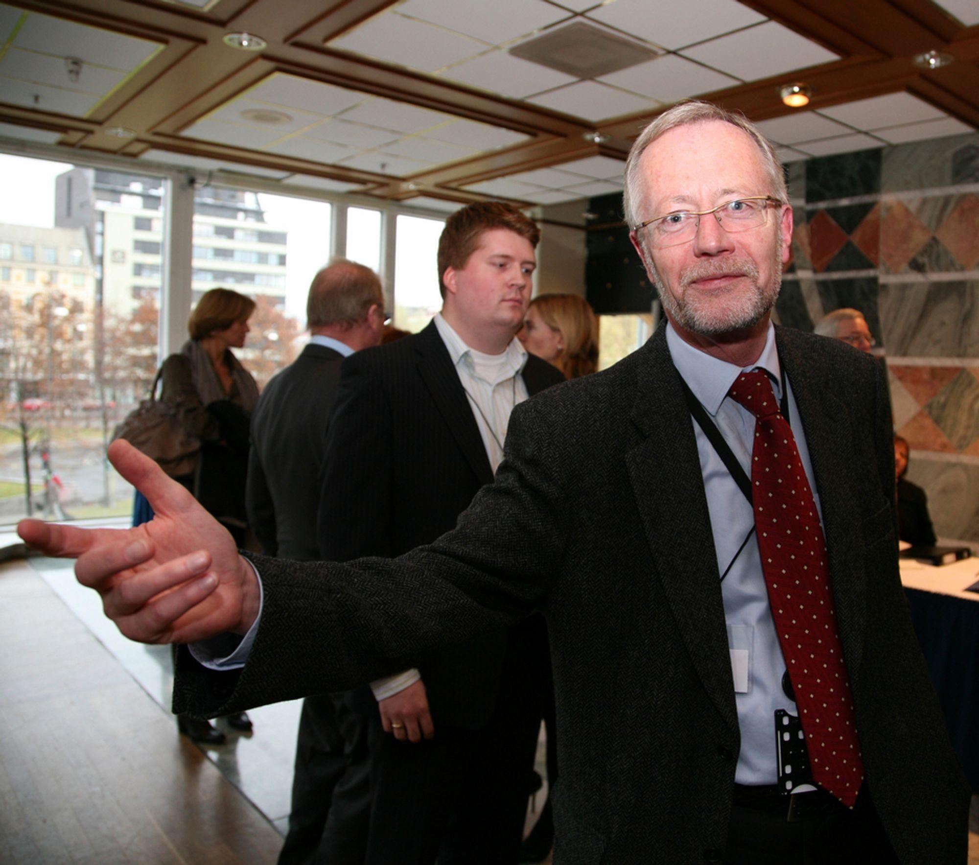 LØNN: Tor Steig mener den norske likhetstenkningen spiller inn.