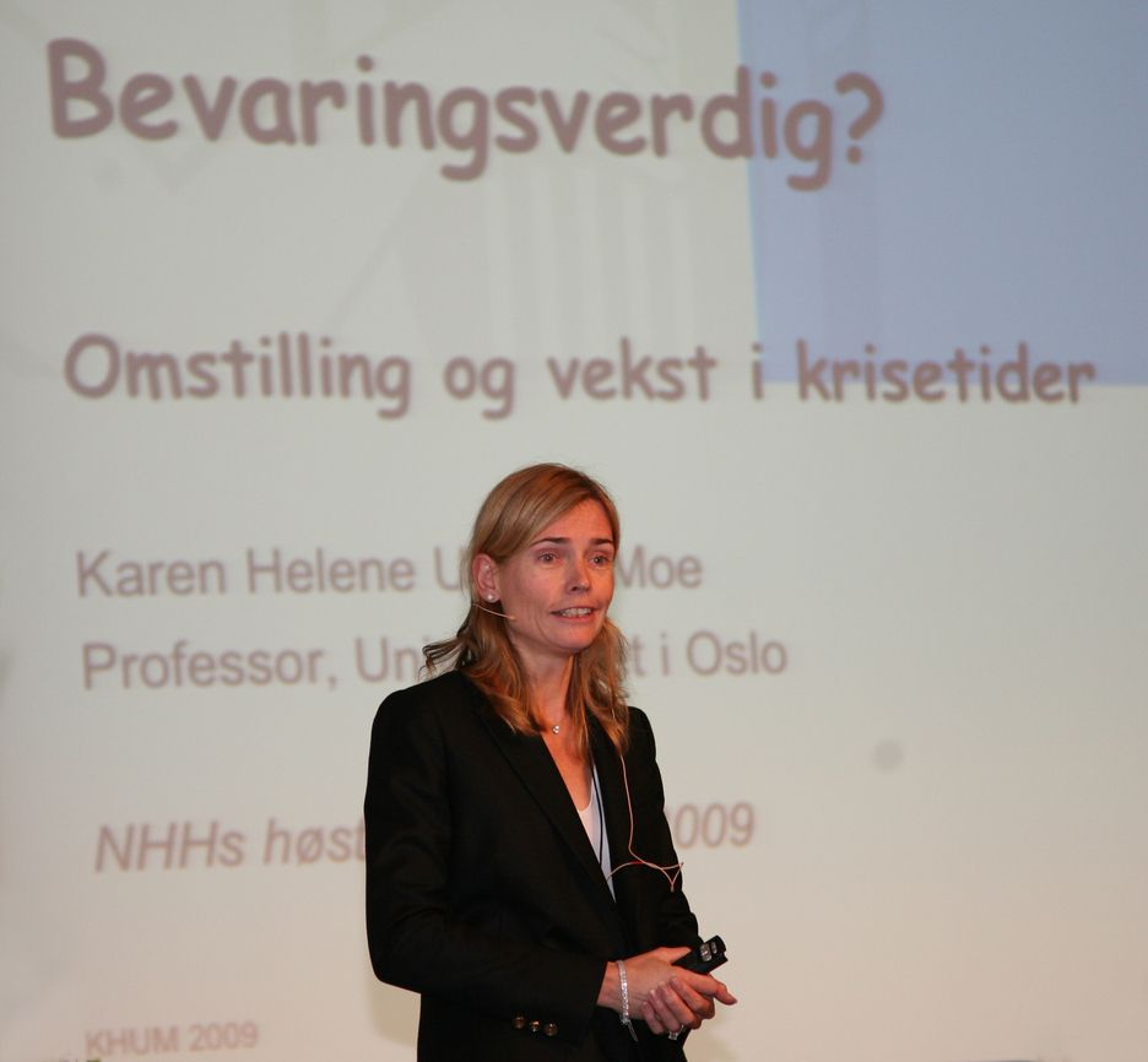 Karen Helene Ulltveit-Moe, professor ved Universitetet i Oslo.
