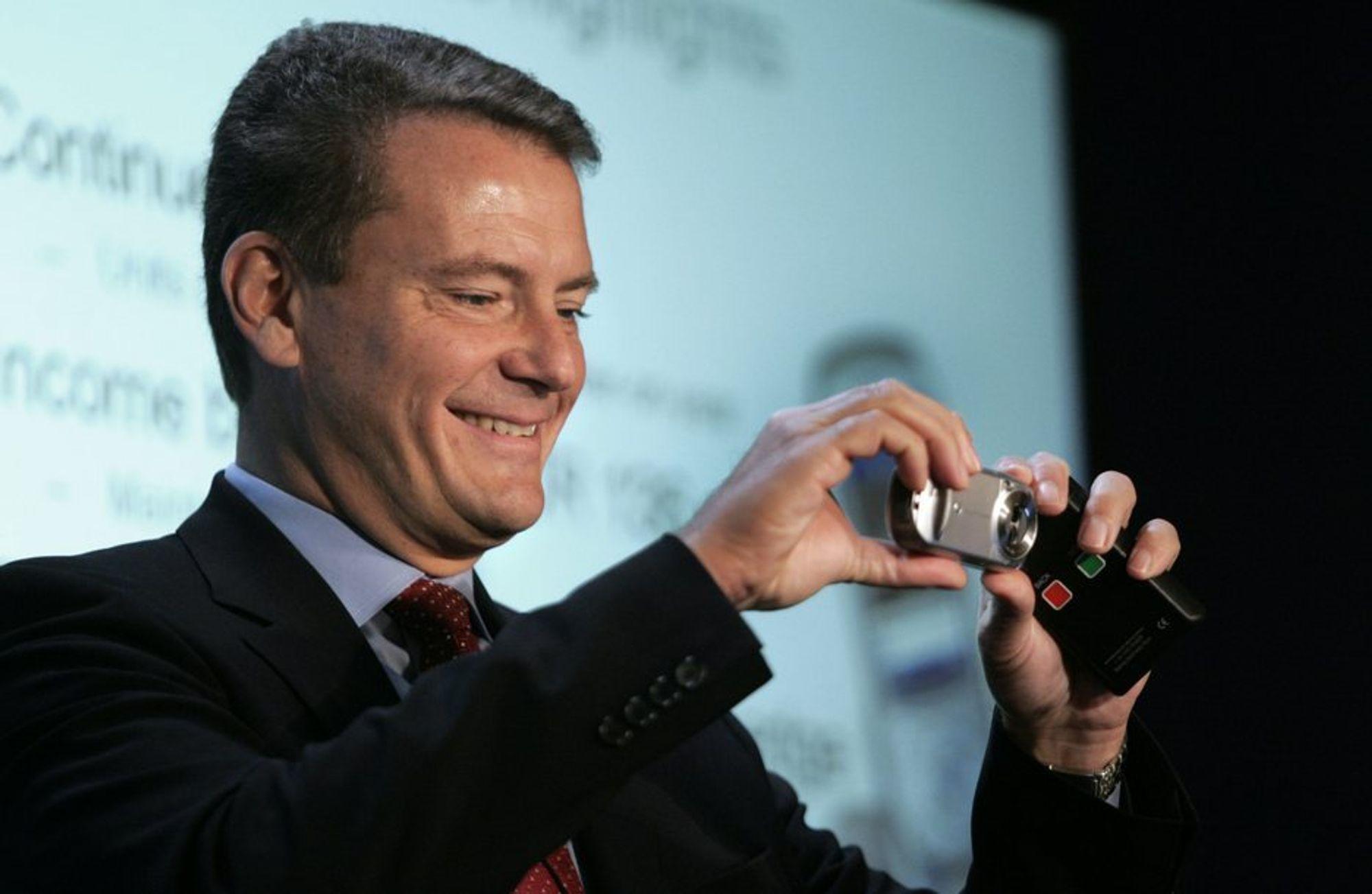 Ericsson-sjef Carl-Henric Svanberg skal være blant de tyngste lobbyistene for å få it og telekom inn som eget tema i en framtidig handlingsplan for klimaet.
