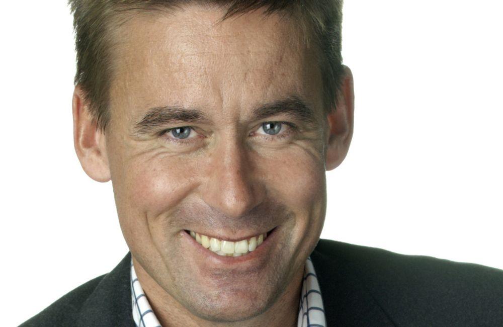 August Baumann, administrerende direktør i NetCom.