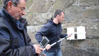 Skanner Akershus festning med radar