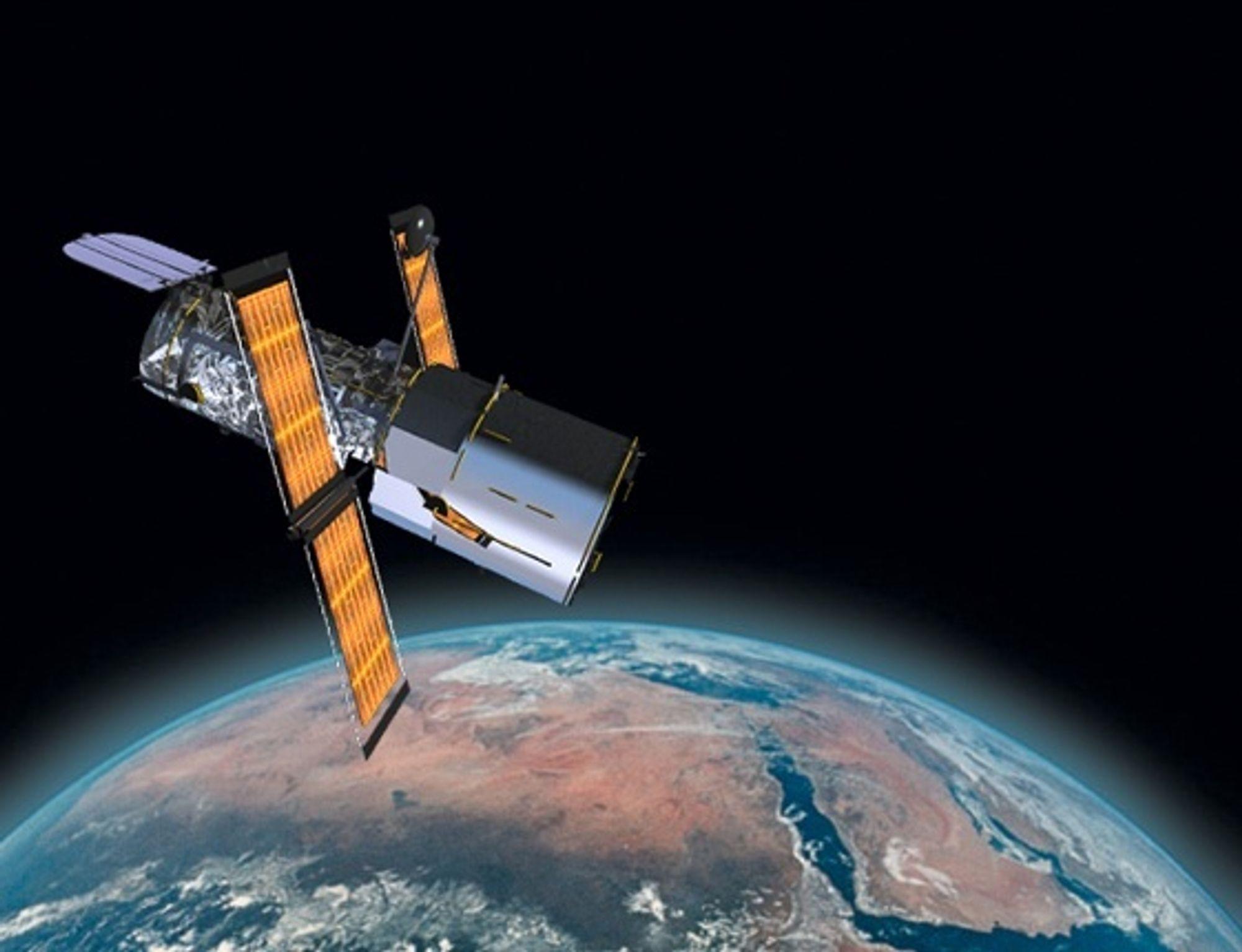 Romteleskopet Hubble har i 15 år sendt unike bilder til jorda. Om ett år er det slutt. ILL: NASA