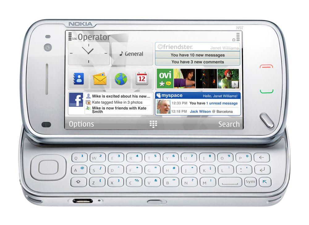 Nokia N97.