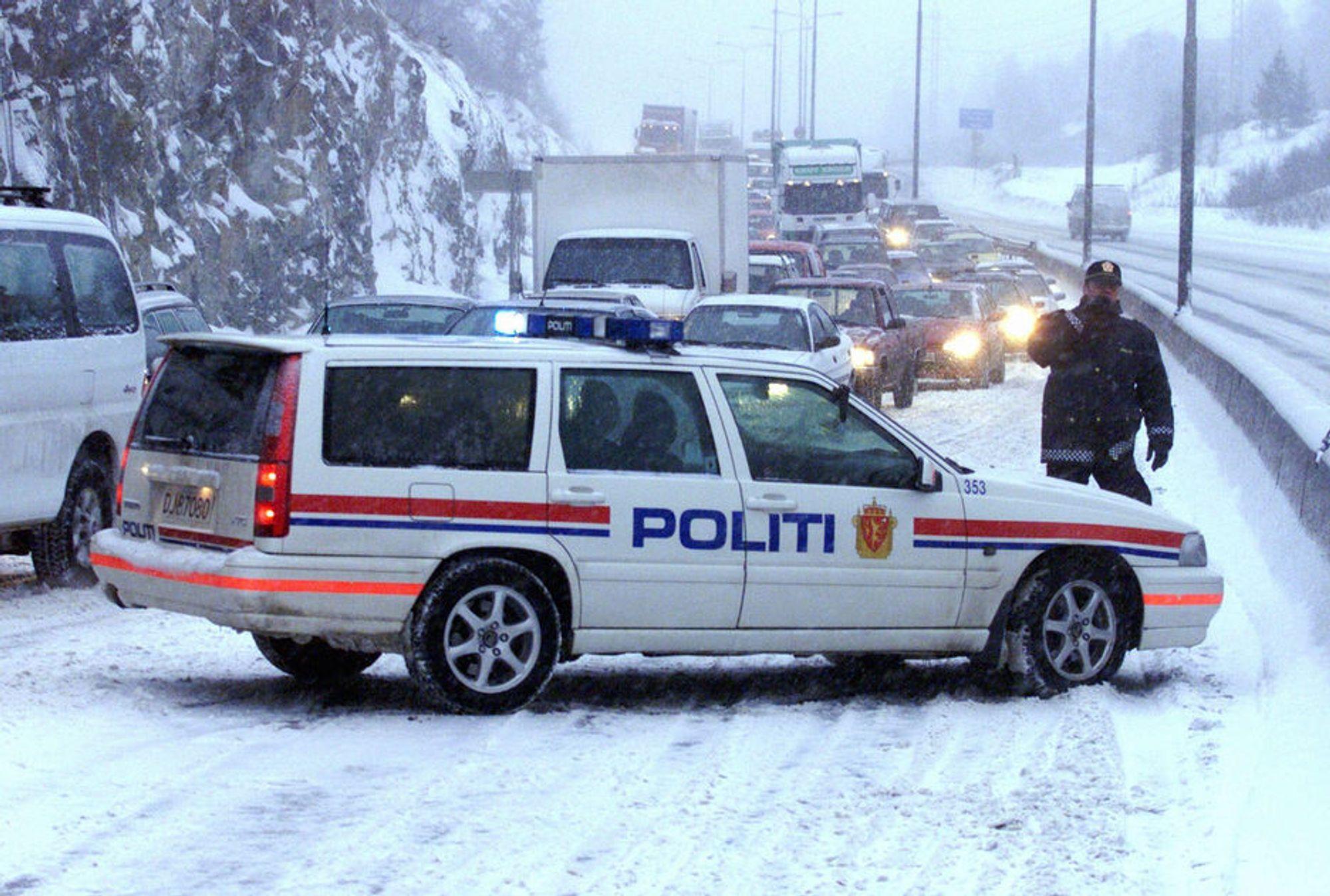 LUKKET OG LÅST: Fra mandag er det slutt på å tyvlytte til politiets samband.
