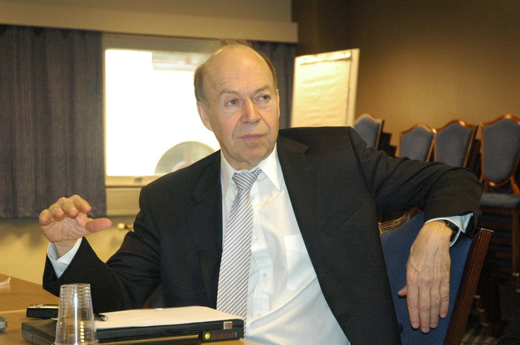 Sofieprisvinner og klimaforsker James E. Hansen er sterkt skeptisk til norsk klimapolitikk.