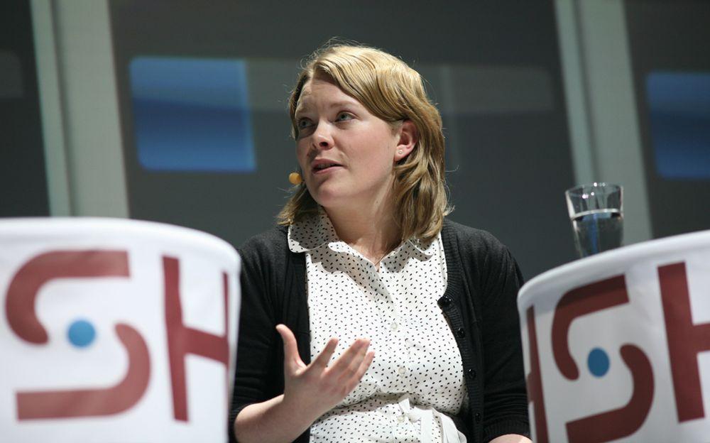 HELT ENIG: Gevinsten av høy utdanning er lav, sier NSU-sjef Anne Karine Nymoen.