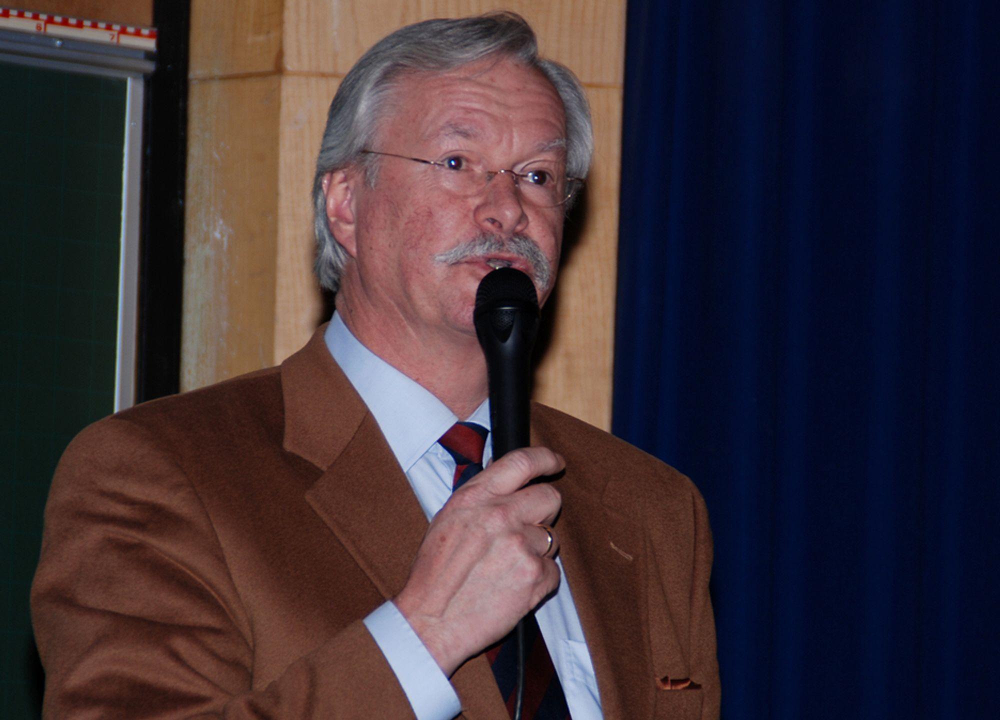 BOM: Generalsekretær Kåre Rygg Johnsen i Tekna, mener SSB bommer i sine spådommer.