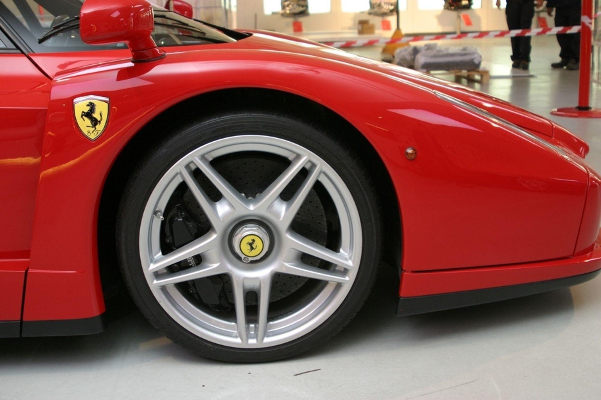 UTSETTELSE: Med Ferrari med på laget kan bildelsprodusenten Casting Technologies drive i et halvt år til.