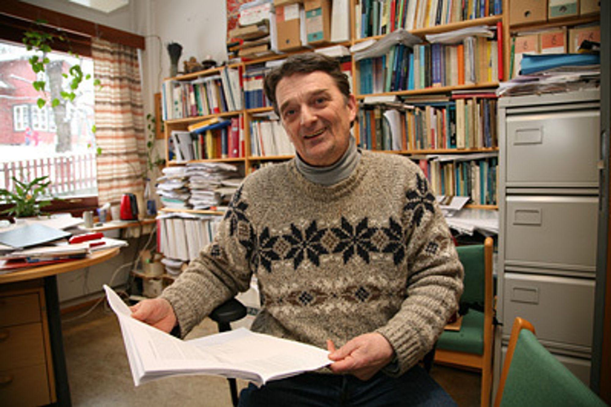 Per Erik Solem, forsker ved Norsk institutt for forskning om oppvekst, velferd og aldring (NOVA).