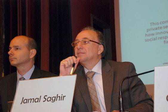 Jamal Saghir i Verdensbanken. Bildet er tatt juni 2009.
