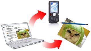 Enklere bilder til mobilen