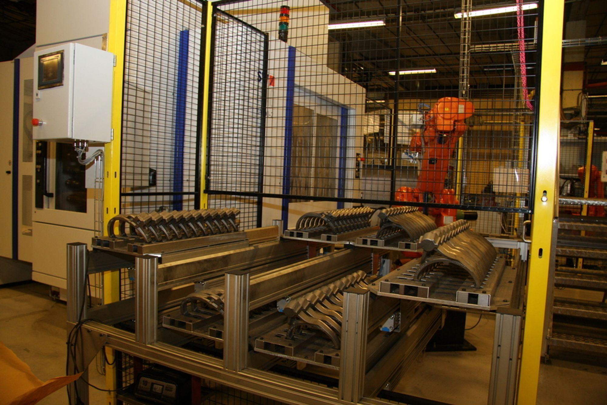 Kongsberg Automotive har fått kontrakter verdt godt over en milliard kroner de siste ukene. Her fra fabrikken på Hvittingfoss.