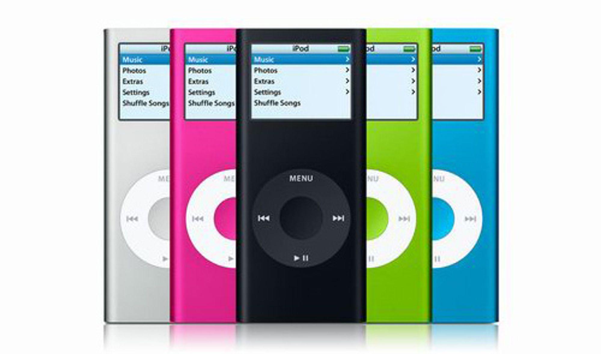 NYTT: Apple vil ikke samarbeide med plateselskapene om et albumformat.
