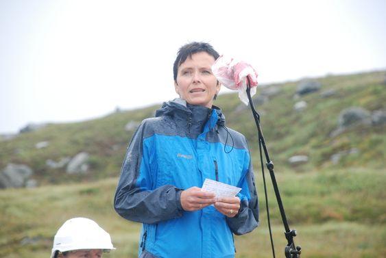 ØNSKER VIND: - Det er viktig med flere vindparker på land for også å mestre vind til havs, sier Heidi Grande Røys. Foto: Kjetil Malkenes Hovland