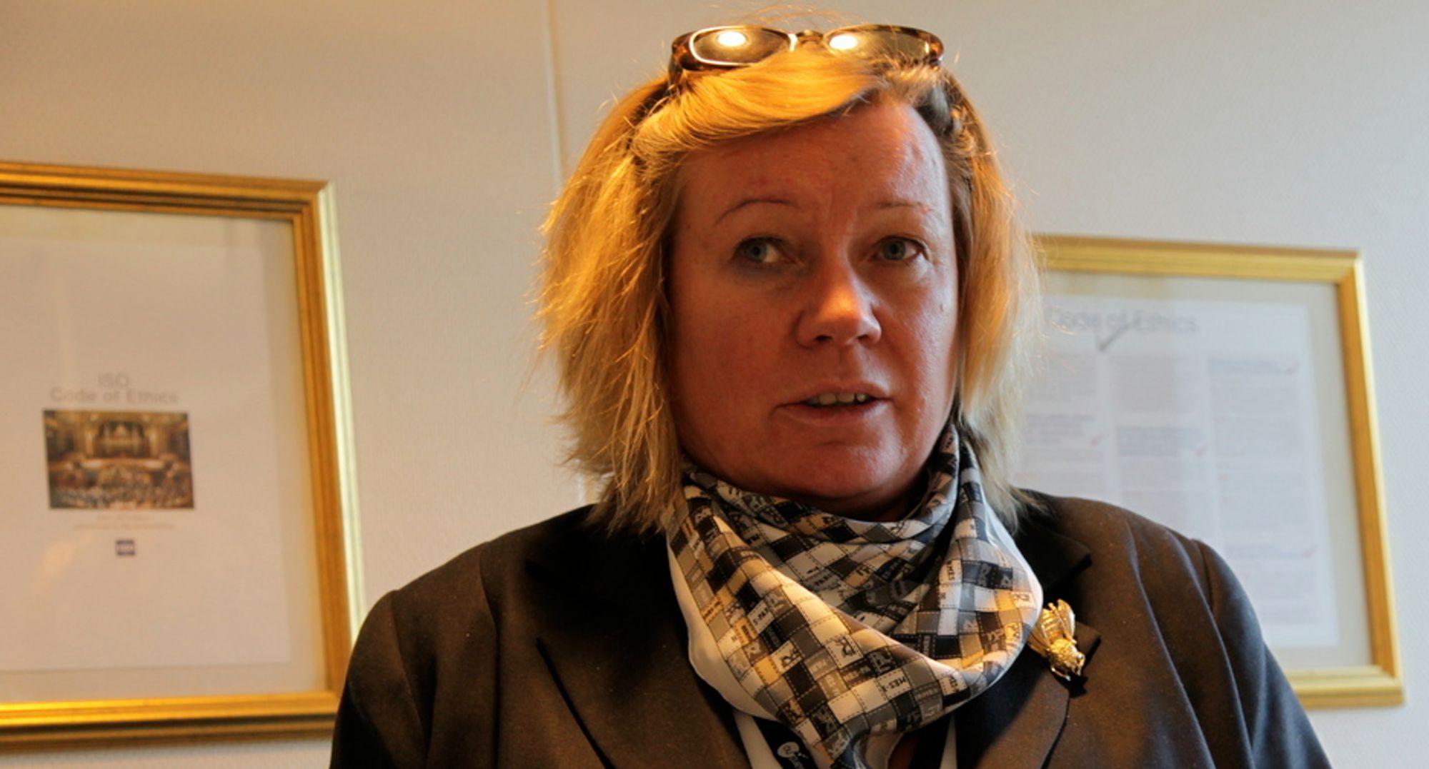 Administrerende direktør Trine Tveter i Standard Norge håper norske eksperter vil bidra til videreutvikling av ODF-standarden.