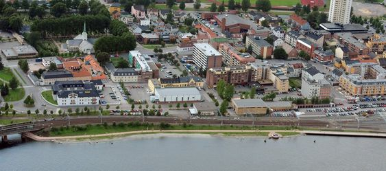 STORT: Konkurranseområdet er stort, og Drammen kommune håper arkitekter som blir med på idékonkurransen ser og utnytter potensialet bydelen har. Strømsø bydel, Drammen kommune, by- og boligutstillingen, NAL Ecobox