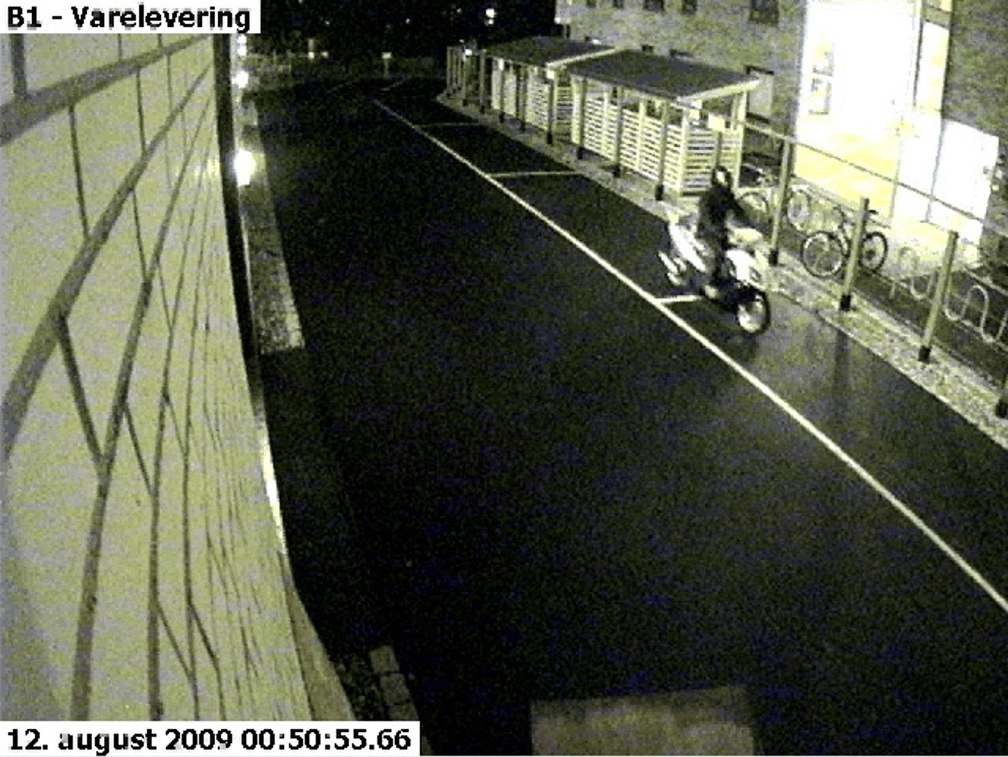 En tyv på scooter stakk i august av med flere bærbare PC-er fra Multiconsults lokaler på Skøyen. - Naive bedrifter, sier Næringslivets sikkerhetsråd.