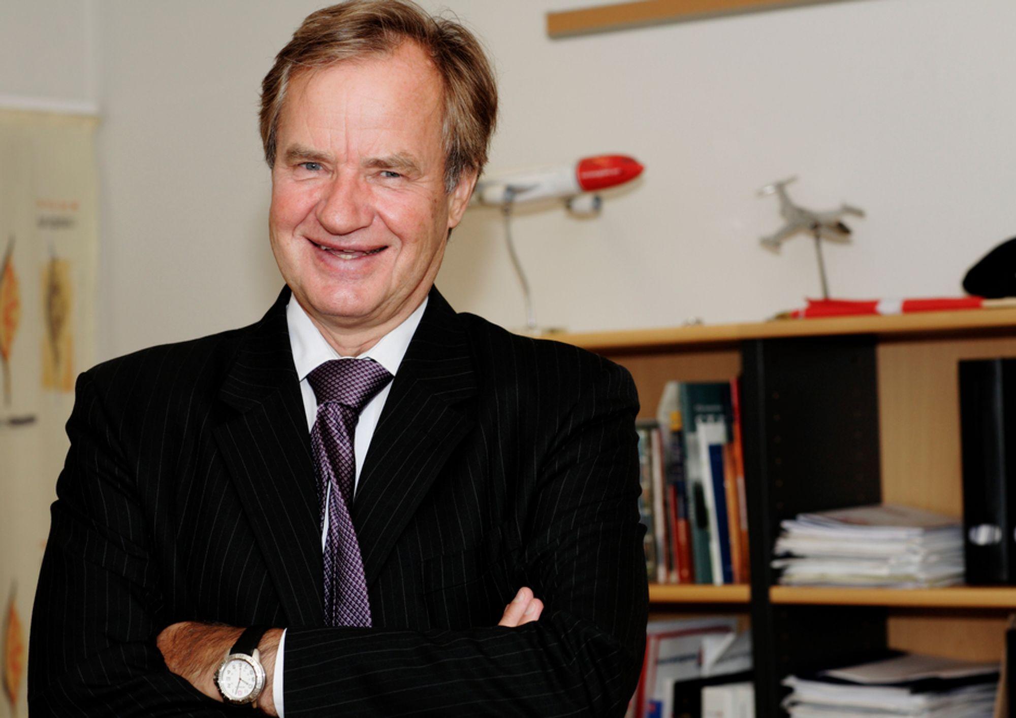 VINNER: Norwegian-sjef Bjørn Kjos vinner prisen som Østlandets beste vekstskaper.