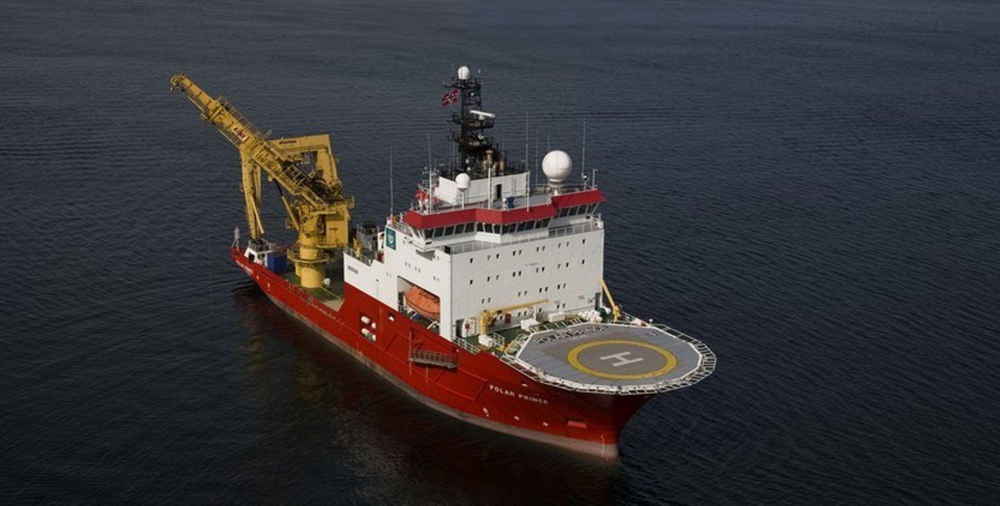 KJERNE: Polar Prince er et subsea support skip (SSV) og inngår i GC Rieber Shippings harde kjernevirksomhet.