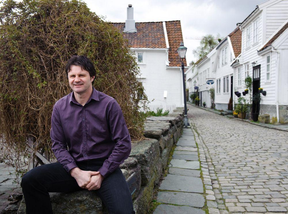 EKSPERT: Lønnsnivået i og rundt Stavanger er såpass høyt at økende boligpriser ikke ødelegger, sier Gisle Høyland.