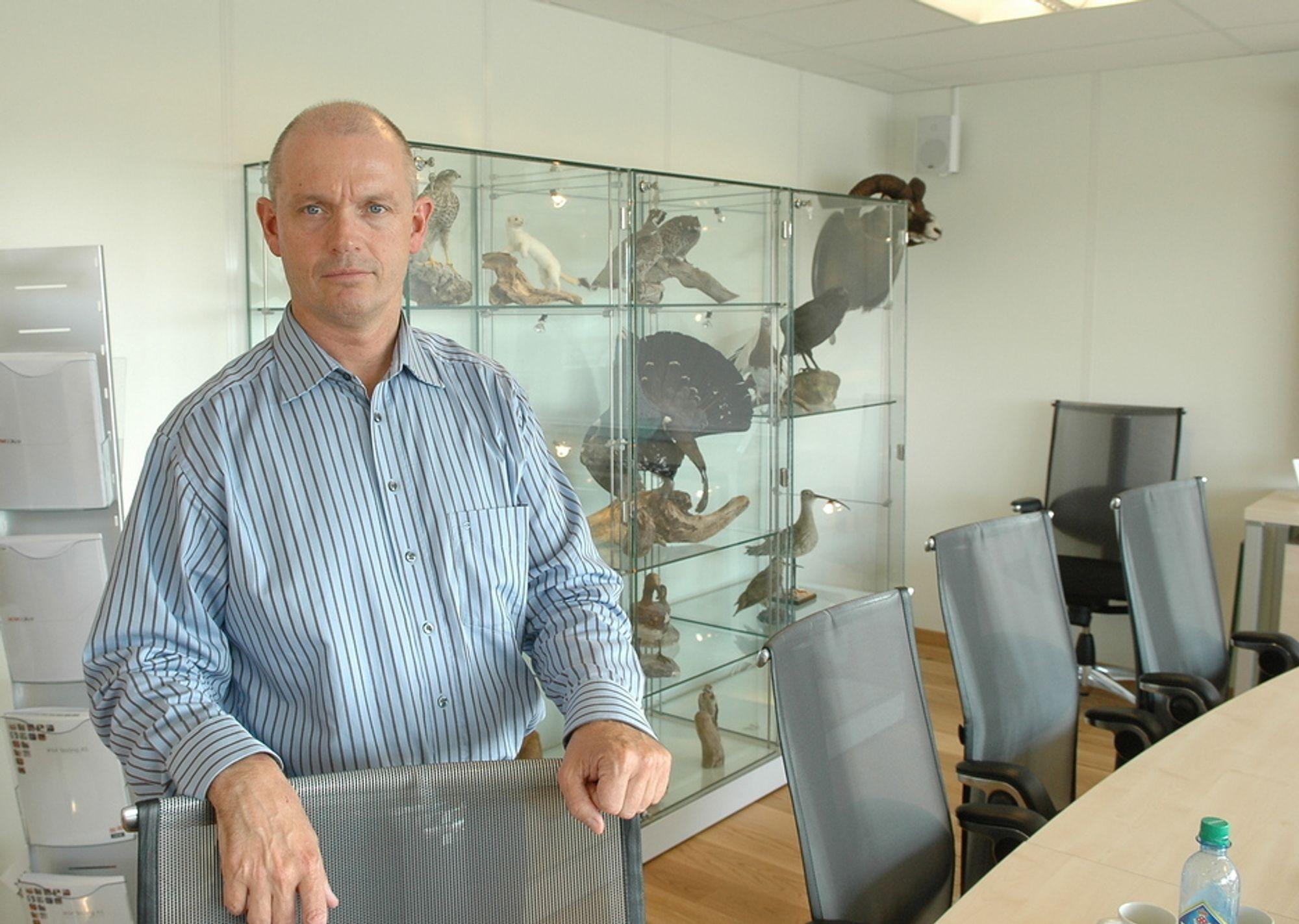 JAKTGLAD: Ståle Kyllingstad er glad i å jakte både vilt og interssante selskaper. Nå har han kjøpt opp Electro Partner i Stavanger og fusjonert de med sitt selskap IKM Instrutek.