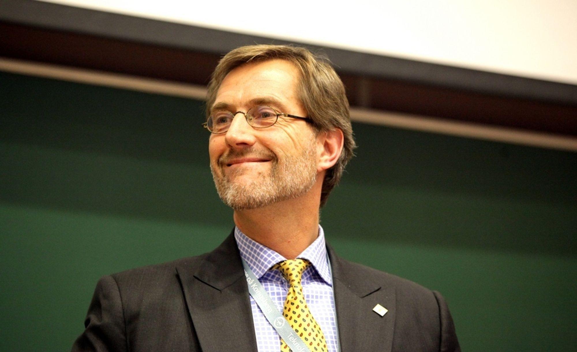 Kongsberg Gruppen som har utvidet avtalen med US Army ledes av konsernsjef Walter Qvam.