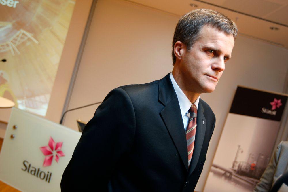Statoils konsernsjef Helge Lund mener andre kvartal kjennetegnes av solid drift og høyt aktivitetsnivå.