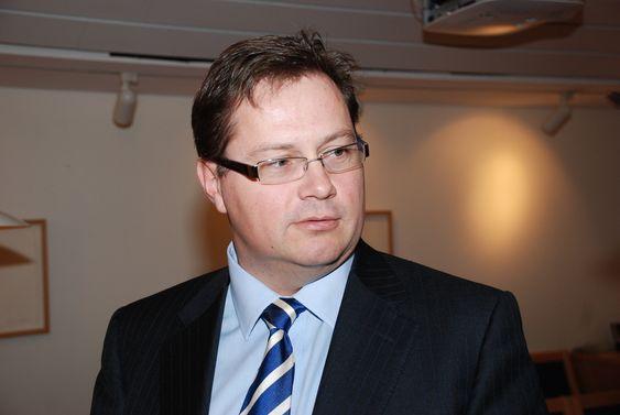 Thorstein Jenssen, Småkraftalliansen, i møte med statsråd Terje Riis Johansen 3. november 2009