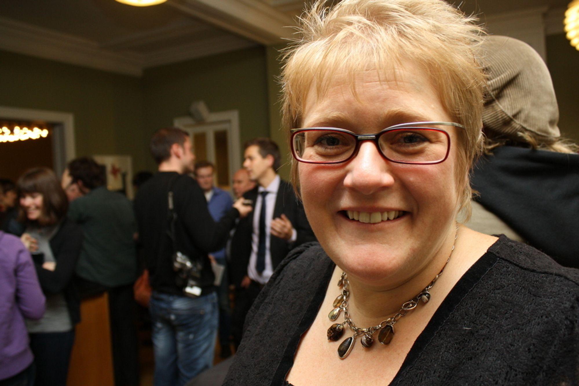 OPTIMIST: Venstre-nestleder Trine Skei Grande måtte i går knive med toppolitikere fra alle partier minus Arbeiderpartiet om å fordømme det forestående datalgringsdirektivet fra EU sterkest. Slik har det ikke alltid vært.