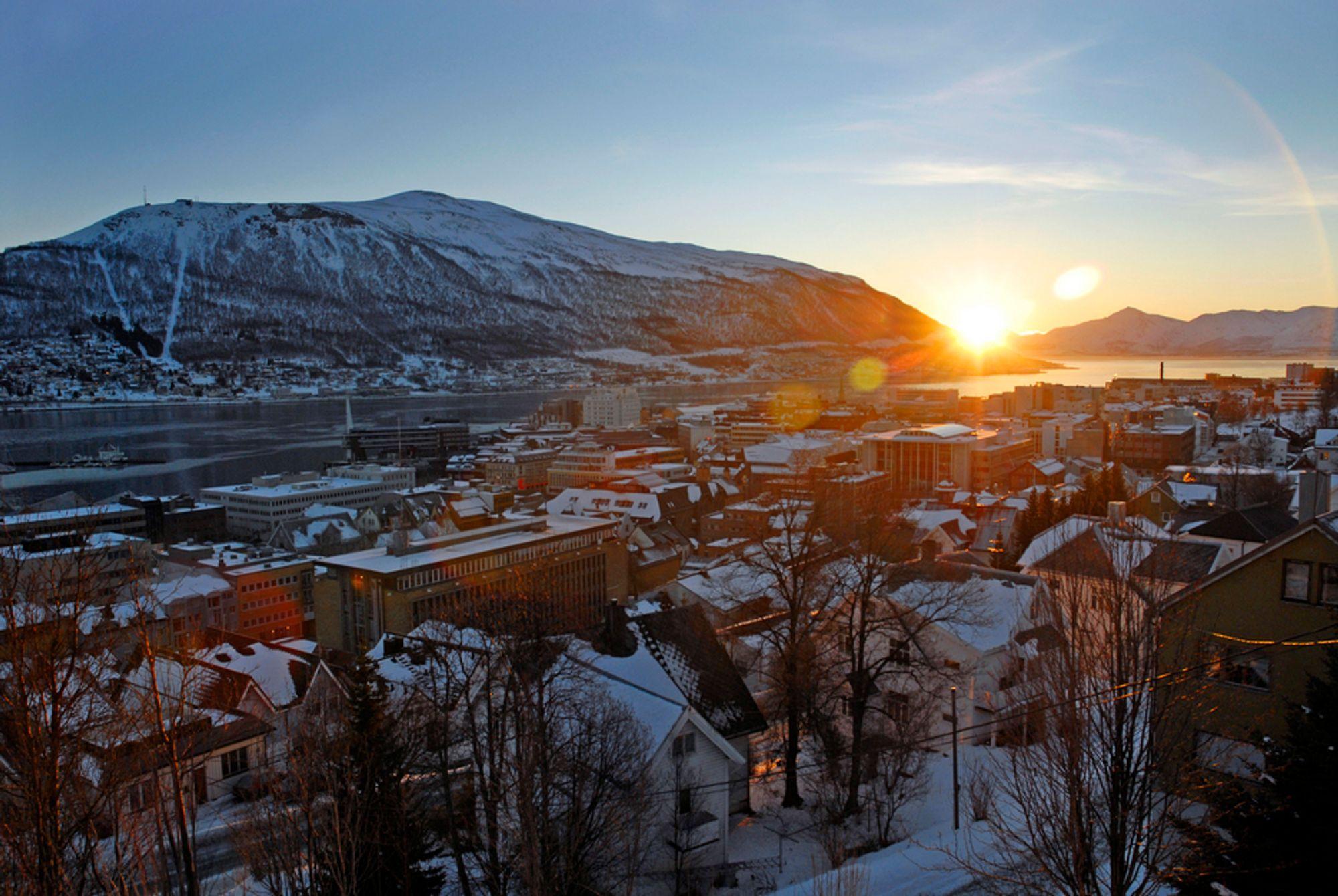 Reisetiden fra Bodø til Tromsø skal kuttes med rundt en halvtime som følge av utbedringene som er skissert i NTP.