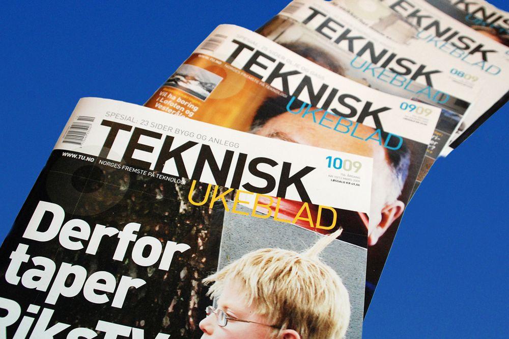 OPP: Teknisk Ukeblad fortsetter fremgangen.