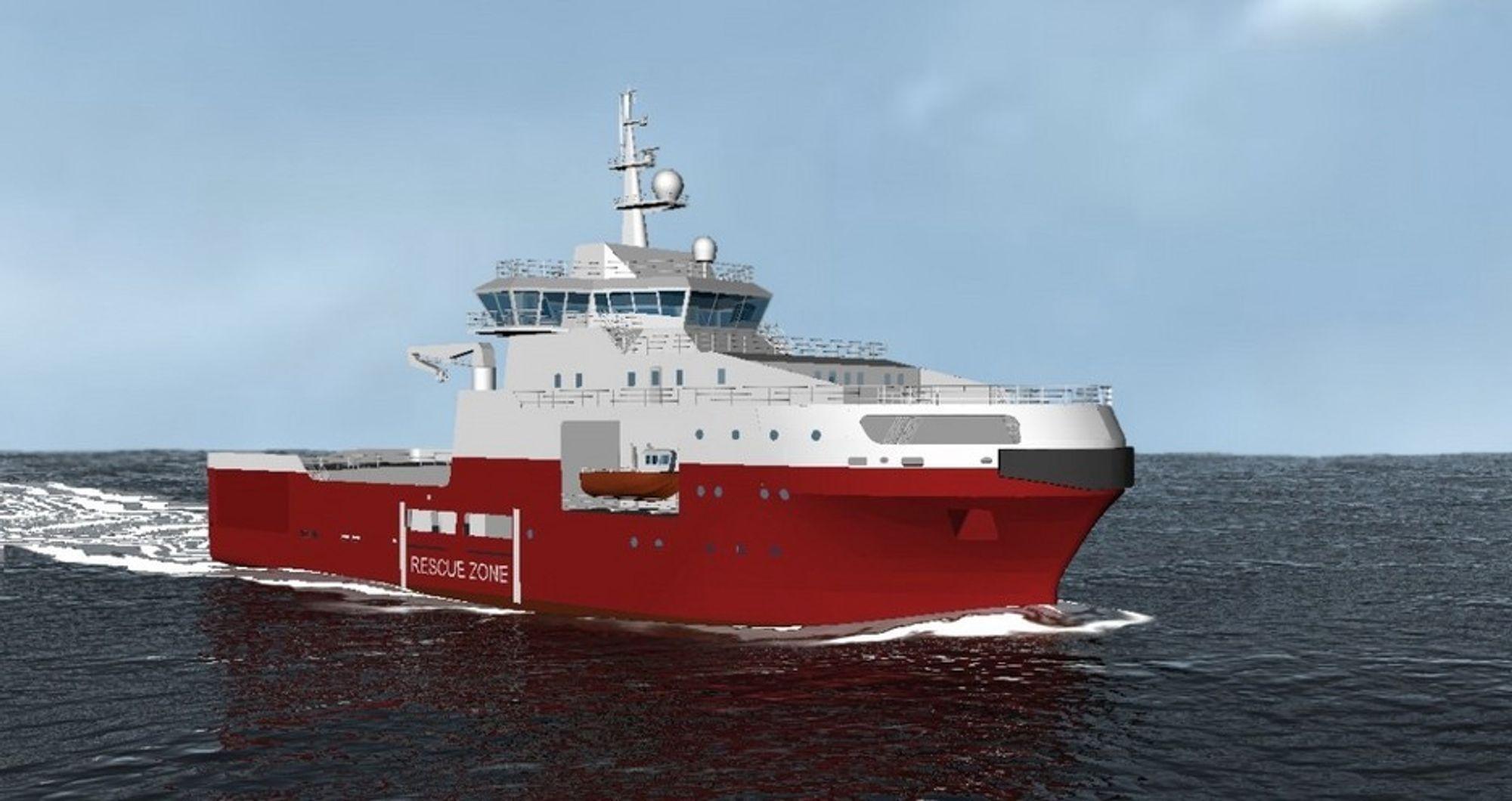 Wärtsilä har fått flere kontrakter i forbindelse med Sartor Shippings bestilling av to beredskapsfartøy fra Kina. Design, gir og propeller er fra den norske delen av Wärtsilä. Skipene er av typen Vik-Sandvik 465 FSV (beredskapsfartøy). De blir 65,9 meter lange og 18 meter brede.