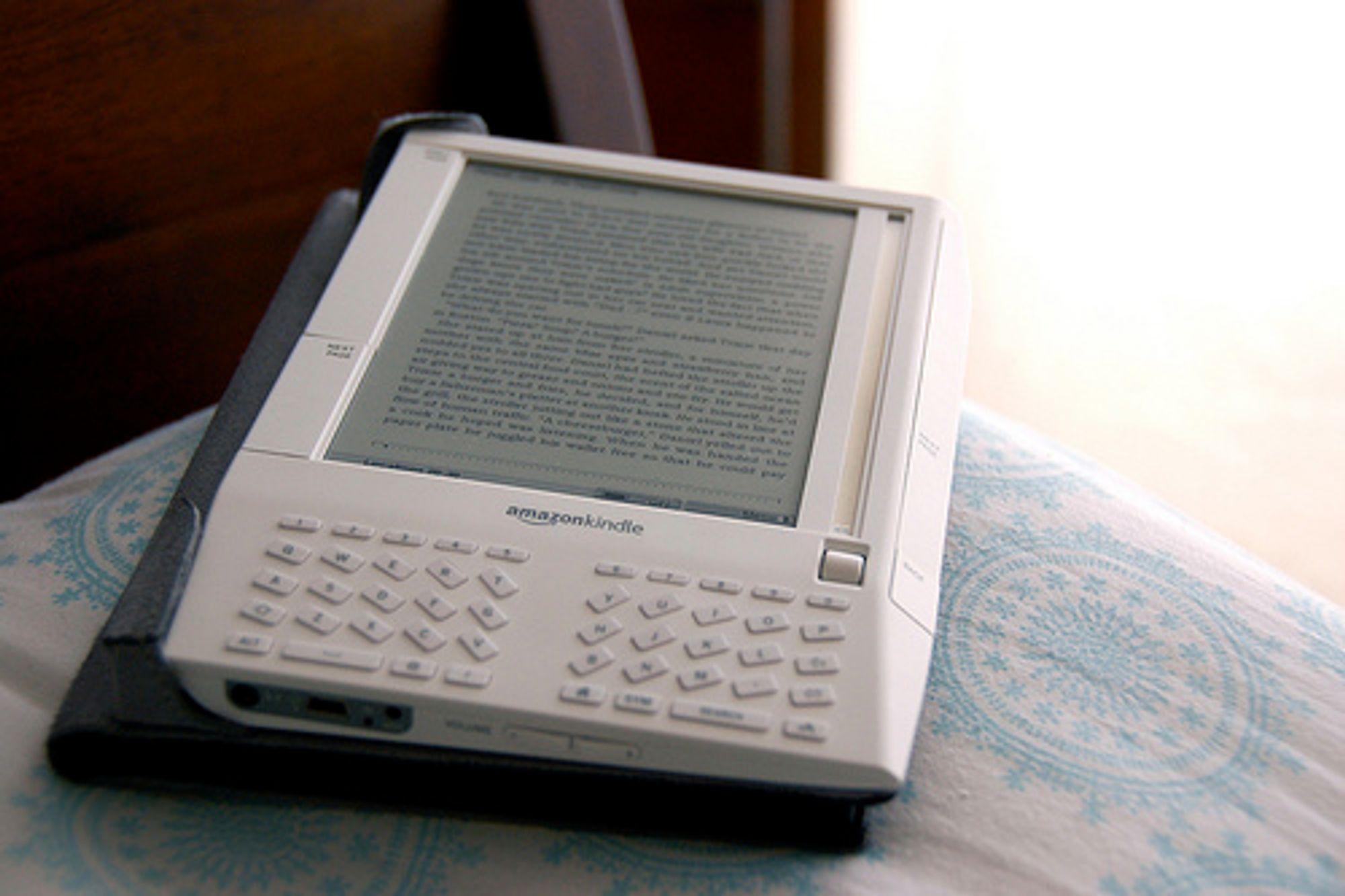 Dagens Amazon Kindle - nå er en ny versjon lansert