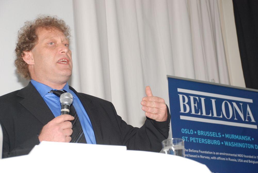 ANMELDER STATOIL: - Granskningsrapporten fra Petroleumstilsynet er en fullstendig slakt av Statoil, og bekrefter at tilsynet er enig i det Bellona har hevdet fra første dag: Statoil har underdrevet faren for en alvorlig ulykke på Gullfaks C, sier Bellona-leder Frederic Hauge.