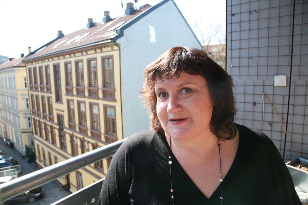 SJOKKERT: - Jeg ble irritert og sjokkert da jeg oppdaget at fjernvarmeselskapene planlegger å bruke 20-25 prosent fossil energi i lang tid framover, sier Guro Fjellanger (V) i Oslo bystyre. Hun vil ha strengere miljøkrav til bransjen.