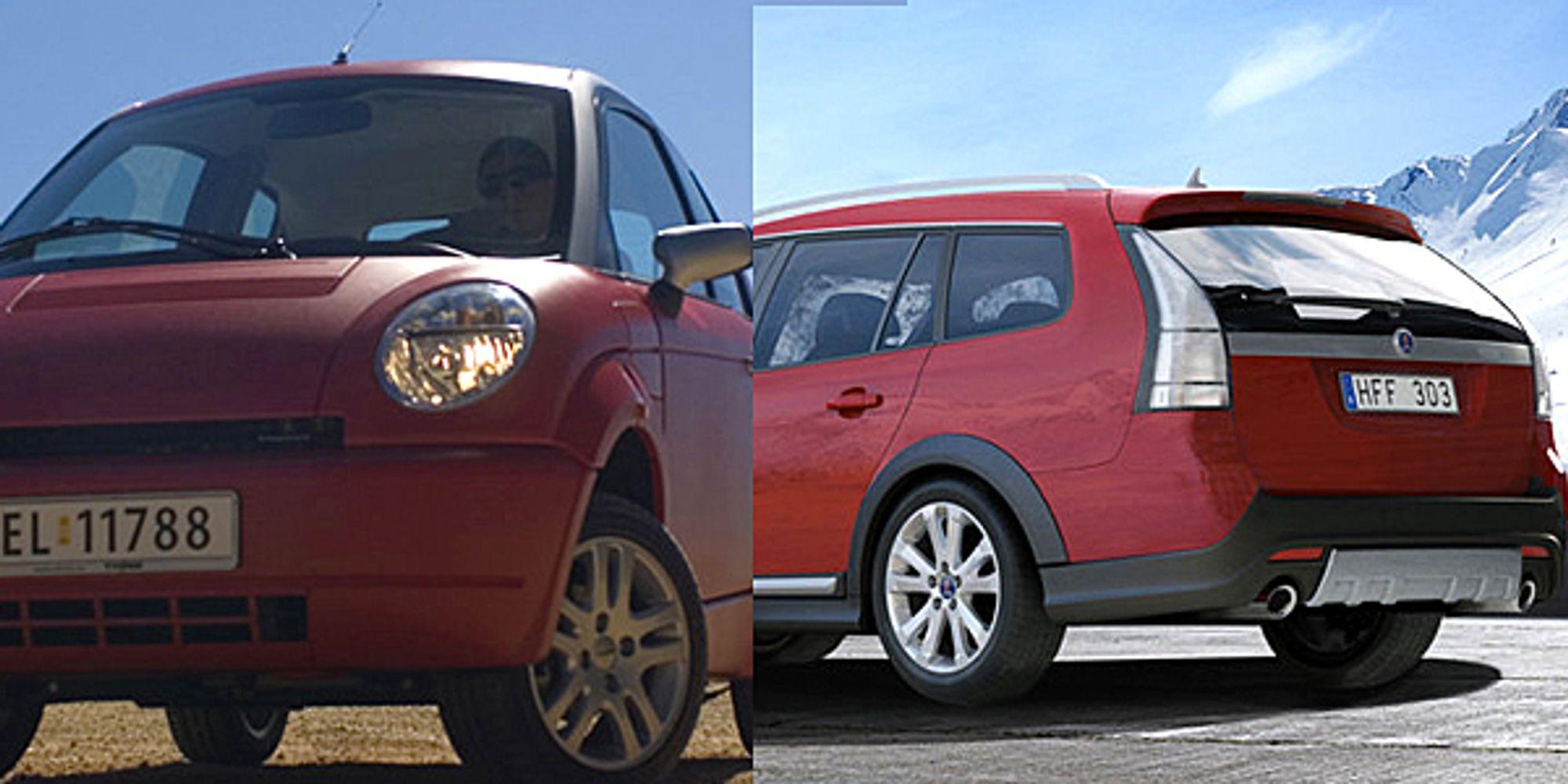 I Sverige jobbes det nå for et samarbeid mellom de to kriserammede bilselskapene Think og Saab.