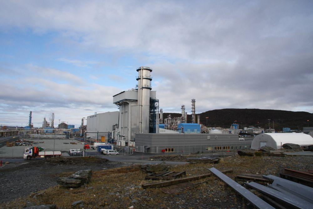 Naturkrafts gasskraftverk på Kårstø