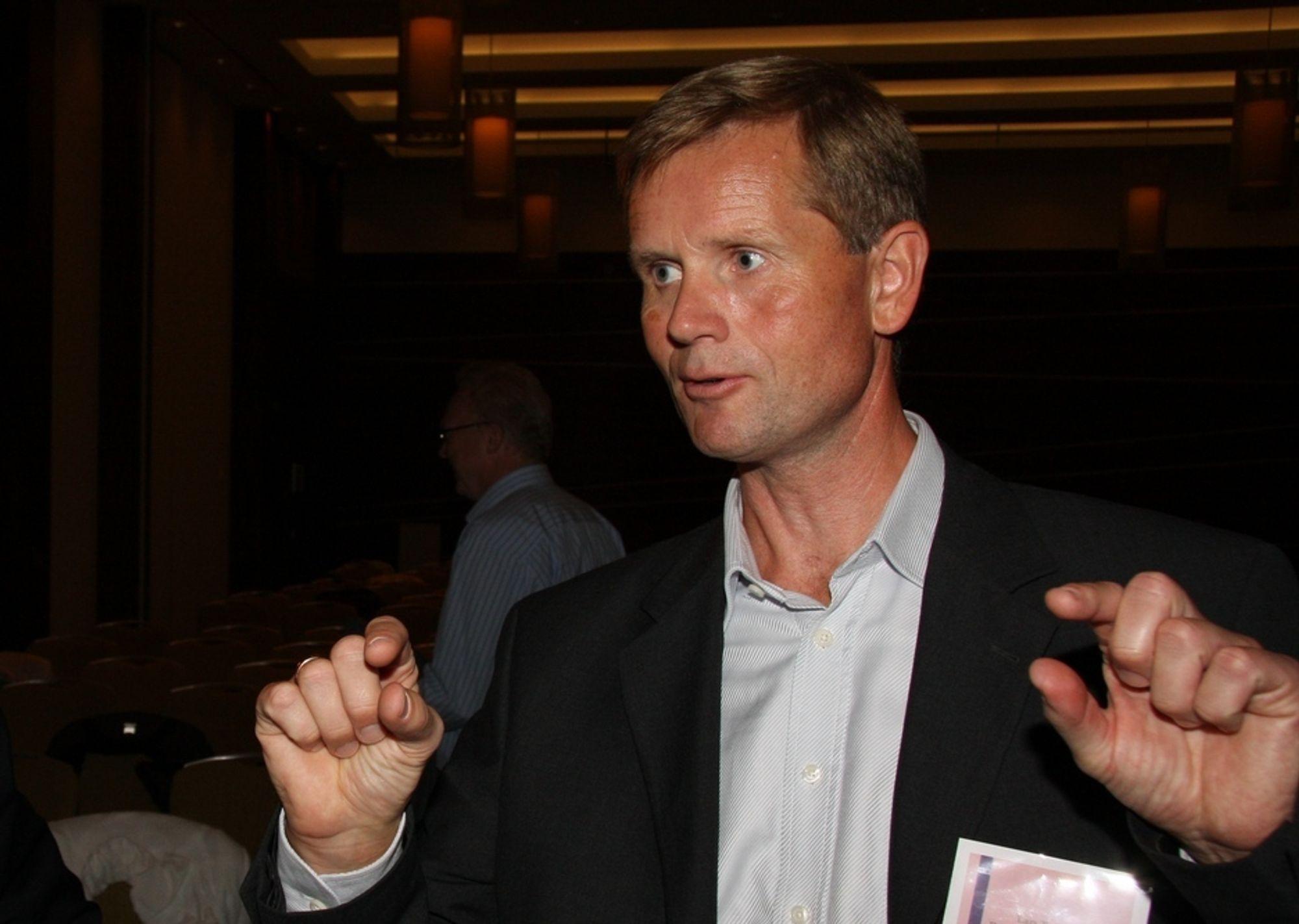 ADVARER: Utviklingsdirektør Lars Tveit i Bergen kommune advarer mot overdreven fokus på teknologi fremfor hva IT skal bidra til å løse.