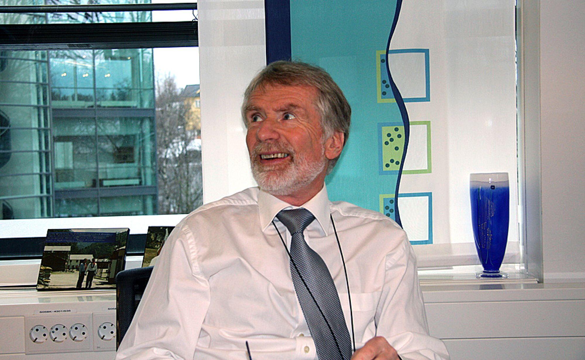 Bård Mikkelsen er konsernsjef i Statkraft.